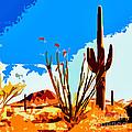 Arizona Desert by Jerome Stumphauzer