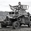 armored car Sd.Kfz.222 by Dmitry Laudin