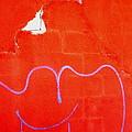 Art Homage Joan Miro Picacho Arizona 2005 by David Lee Guss