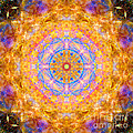 Sun Sparkle Mandala  by Susan Bloom