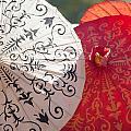Asian Umbrellas by Alex Grichenko