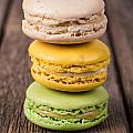 Assorted macaroons vintage by Jane Rix