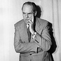 Astronomer Edwin Hubble by Underwood Archives