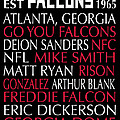Atlanta Falcons by Jaime Friedman