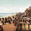 Atlantic City Boardwalk 1900 by Unknown