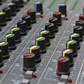 Audio Mixing Board Console by Gunter Nezhoda