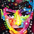 Audrey Hepburn by Dean Russo Art