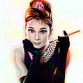 Audrey Hepburn  by Marvin Blaine