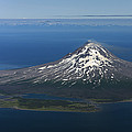 Augustine Volcano Cook Inlet Alaska by Ingo Arndt