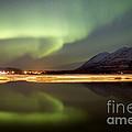 Aurora Borealis Over Nares Lake by Joseph Bradley