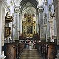 Austria. Krems. G�ttweig Abbey. Church by Everett