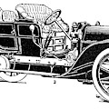 Automobile, 1907 by Granger
