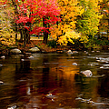 Autumn Colors Reflected by Jeff Folger