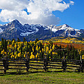 Autumn Fences by Gary Benson