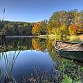 Autumn Lake by Debra and Dave Vanderlaan
