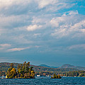 Autumn On Lake George by David Patterson