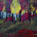 Autumn Peak by Dick Bourgault