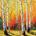 Autumn's Glow by David G Paul