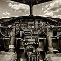 Cockpit Of A B-17 by Mike Burgquist