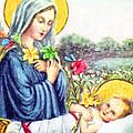 Baby Jesus by Munir Alawi