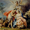 Bacchus And Ariadne by Jacopo Amigoni