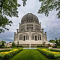 Baha'i House Of Worship by Randy Scherkenbach