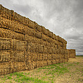 Bales Of Hay On Farmland 4 by David Gn