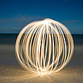 Ball Of Light Marco Island Beach by Rich Franco