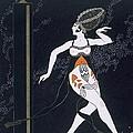 Ballet Scene With Tamara Karsavina by Georges Barbier