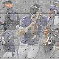 Baltimore Ravens Team by Joe Hamilton