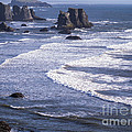 Bandon Beach Seastacks 4 by Tracy Knauer