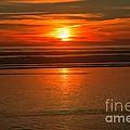 Bandon Beach Sunset by Adam Jewell