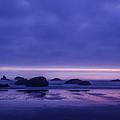 Bandon Beach Sunset by Vishwanath Bhat