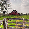 Barn By A Fence by Larry Braun