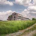 Barn On A Hill by Larry Braun
