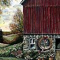 Barn Wreath by Steven Schultz