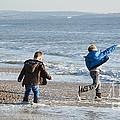 Barton On Sea Tyler And Harvey by Donald Davis