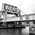 Bascule Bridge At Knapps Narrows On Tilghman Island In Maryland by William Kuta