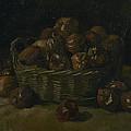 Basket Of Apples by Vincent Van Gogh