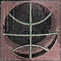 Basketball Abstract by David G Paul