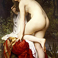 Bather by William-Adolphe Bouguereau
