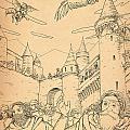 Battle At Unterwaldon by Reynold Jay