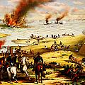Battle Of Hampton Roads by Celestial Images