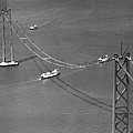 Bay Bridge Under Construction by Charles Hiller