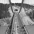 Bay Bridge Under Construction by Underwood Archives