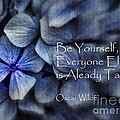 Be Yourself by Karen Lewis