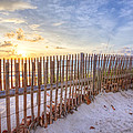 Beach Fences by Debra and Dave Vanderlaan