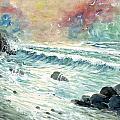 Beach Tide by Steven Schultz