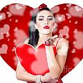 Beautiful Girl In A Bright Love Romance by Jorgo Photography - Wall Art Gallery