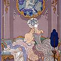 Bedroom Scene by Georges Barbier